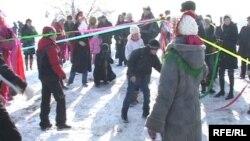 Семиреченские казаки празднуют Рождество. Иллюстративное фото.