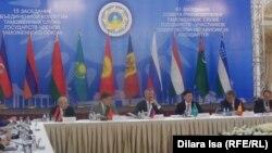 61-е совещание глав таможенных служб стран СНГ, Шымкент, 4 июня 2015 года.