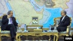 سفر میشل روکار به ایران در ۲۳ اردیبهشت ۱۳۹۱