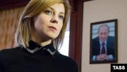 Наталья Поклонская в своем кабинете прокурора. Симферополь, март 2016 года