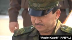 Глава ГКНБ Таджикистана Саймумин Ятимов.