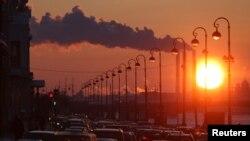 Россия. Петербург. Экологический пейзаж