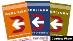 Наряду с евро в Германии ходят около 15 местных валют: «берлинеры», «химгауэры», «роланды», «урштрошталеры», «киршблюте», «хавелталеры» и другие