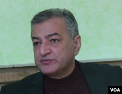 Ilham Ismayil, a former Azerbaijani State Security officer. (file photo)