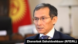 Премьер-министр Жоомарт Оторбаев.