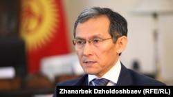 Kryeministri i Kirgizisë, Joomart Otorbaev.