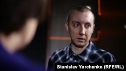 Станислав Асеев в киевской редакции Радио Свобода