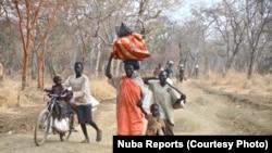 Беженцы в Нубийских горах