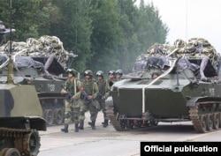 Российских десантников подняли по тревоге во время учений «Запад-2017», 14 сентября 2017 года