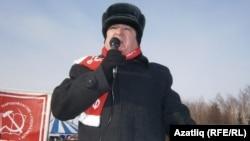 Хафиз Миргалимов чыгыш ясый
