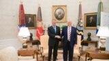 ÎntâlnireaTrump- Iohannis în fotografii