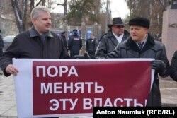 Александр Стрыгин (слева)