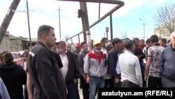 Բողոքի ակցիա Զարթոնք գյուղում, 13-ը ապրիլի, 2019թ.