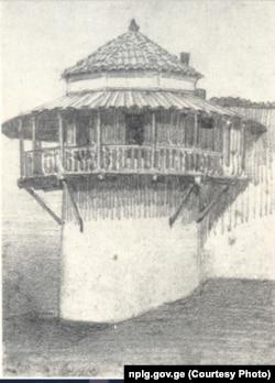 დარეჯანის სასახლე ტფილისში. მხ. ვ. ვერეშჩაგინი (1863-1865)