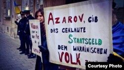 Євромайдан у Відні, 13 лютого 2014 року (фотографії: Lidiia Akryshora)