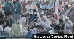Кадры зь фільма «Міс Палоніі», рэжысэры Яна Шостак і Якуб Ясюкевіч, вытворца — WFDiF (www.wfdif.pl)