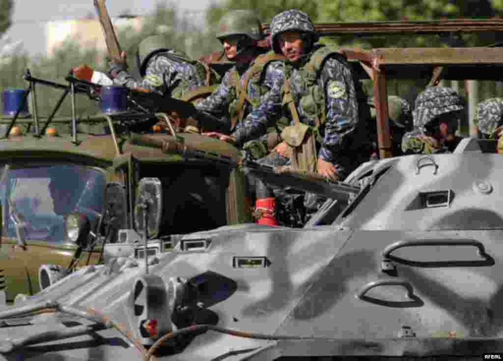 Расстрел мирной демонстрации в Андижане #1