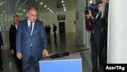 Министр оборонной промышленности Явер Джамалов, 2011