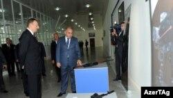 Ilham Aliyev və Yavər Camalov
