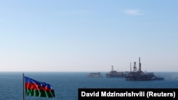 It is estimated that there are trillions of dollars' worth of hydrocarbons beneath the Caspian Sea. (file photo)