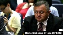 Milorad Barasin has been suspended