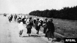Some Ukrainians fleeing starvation escaped to the southeast, where Chechens extended their hospitality.