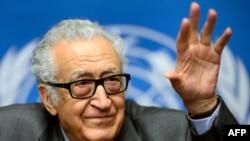 اخضر ابراهیمی، سفیر ویژه سازمان ملل متحد در امور سوریه، نسبت به پیشرفت در مذاکرات امیدوار است.