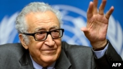 Пратеникот на ОН за Сирија, Лахдар Брахими.