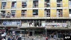 مقامات ترکيه می گويند انفجار روز سه شنبه بر اثر يک حمله انتحاری صورت گرفته است.