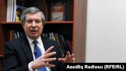Американский cопредседатель Минской группы ОБСЕ Джеймс Уорлик в Баку, 4 февраля 2014