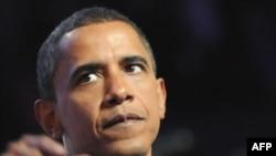 باراک اوباما پیشتر گفته بود که جهان بايد به صورت جدی به ايران برای برنامه هسته ای اش فشار آورد. (عکس: AFP)
