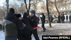 """Забастовка избирателей"" в Уфе. 28 января 2018 года"