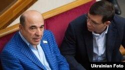 Народні депутати України Вадим Рабінович і Євген Мураєв у сесійній залі Верховної Ради (ілюстраційне фото)
