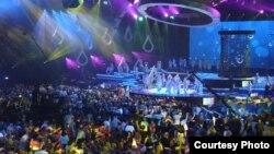 Salla e Kristaltë në Baku, ku është mbajtur Eurovizioni.