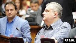 Nenad Čanak u Skupštini Srbije, ilustrativna fotografija