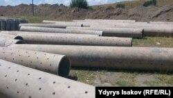 Kyrgyzstan. Kara-Suu. source of drinking water. 2015