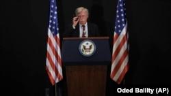 Këshilltari për Siguri Kombëtare në Shtëpinë e Bardhë, John Bolton.