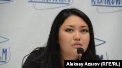 Режиссер и автор сценария фильма «Прятки» Венера Каиржанова. Алматы, 1 августа 2018 года.