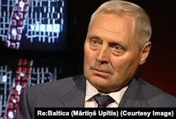 Sobiq KGB zobiti Yuris Savitskis. Latviya TVsidan olingan rasm