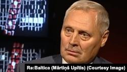 Юрис Савицкис – офицер бывшего КГБ. Фото: ТВ Латвии.