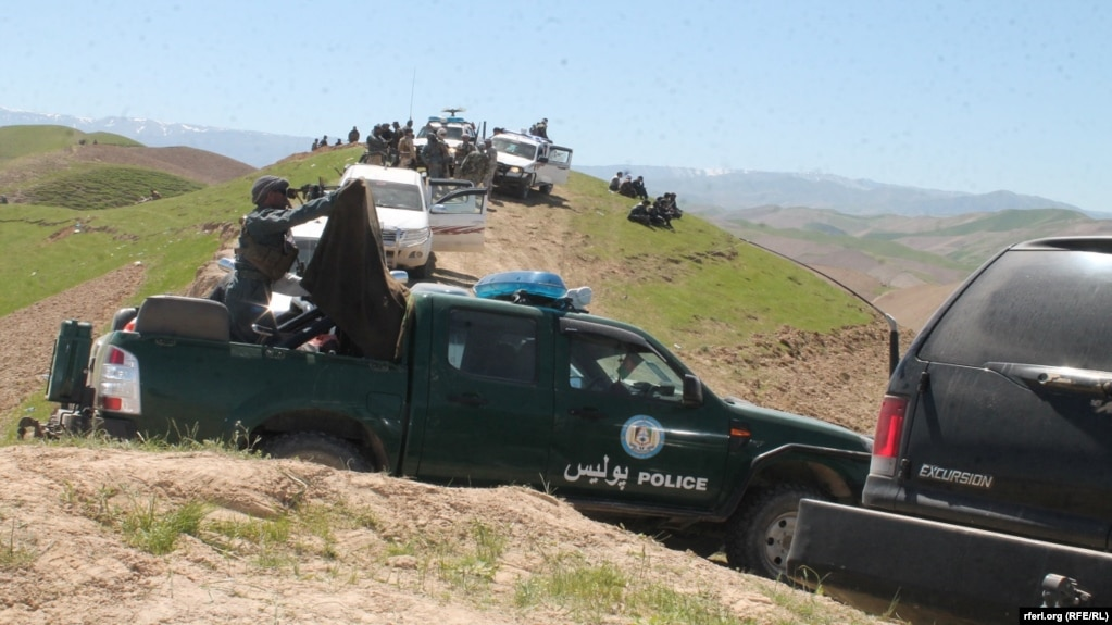 An Afghan military operation in Sar-e-Pul Province earlier this year