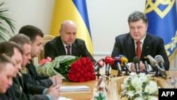 Президент представляє нового секретаря РНБО Олександра Турчинова