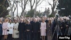 Prezident, hökumət və diplomatik korpusun nümayəndələri,18 mart 2017