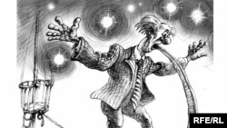 "1994-nji ýylda Türkmenistanda ""Tokmak"" atly satiriki žurnalyň ýapylmagy bilen karikatura žanry hem ýitip ýuwaş-ýuwaşdan ýitip gitdi."