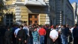 Protest al șoferilor de microbuze de la Chișinău