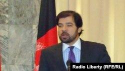 Afghanistan -- (L-R) Jawed Ludin, Political deputy of Afghan Foreign Ministry and German Ambassador Rüdiger König for Afghanistan at a press conference in Kabul, 12Dec2011