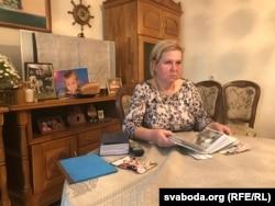 Сьвятлана Мікалаеўна, маці Сашы Коржыча