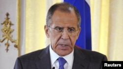 Сергей Лавров, вазири умури хориҷии Русия.