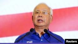 Malaysia's outgoing Prime Minister Najib Razak