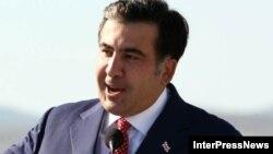 Грузия президенті Михаил Саакашвили.